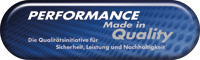 Performance Made in Quality
